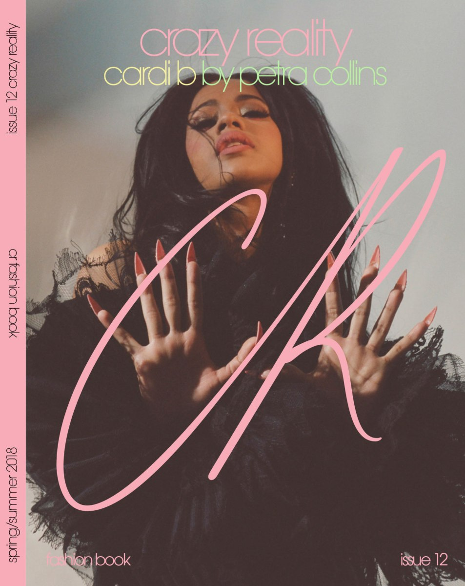 CR Fashion Book Issue 12-Cardi B Cover by Petra Collins (2)