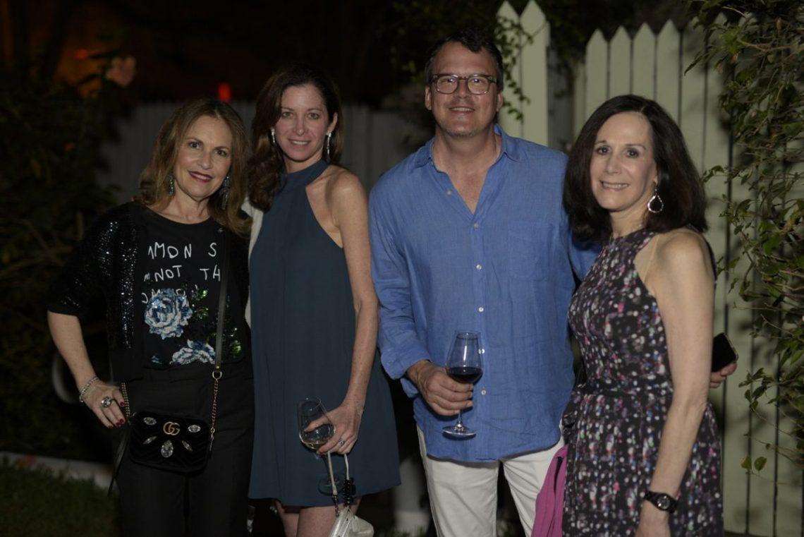 Robbin Newman, Cindy Haas, David Bruce & Eris Sandler