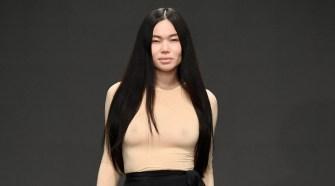 Kentaro Kameyama at Los Angeles Fashion Week