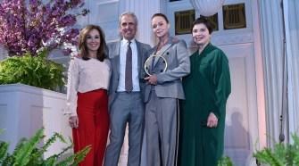 Stella McCartney, Isabella Rossellini, Norma Kamali, Fern Mallis at David Lynch Foundation Women of Vision