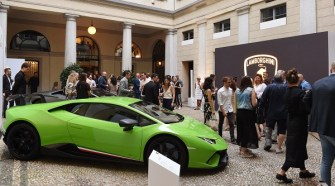 Collezione Automobili Lamborghini presents the 2019 Spring Summer Collection