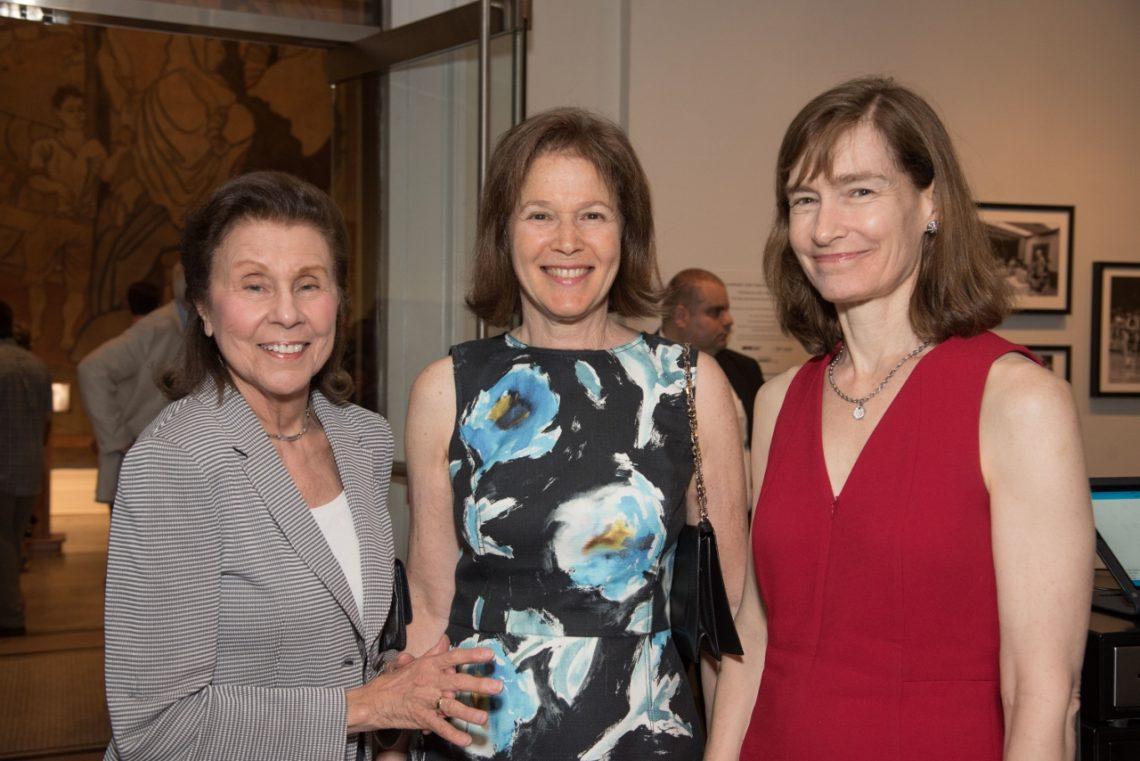 Celebrating Bill Cunningham 01 Helen Appel, Pam Schafler, Margi Hofer