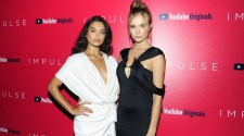 "Josephine Skriver, Shanina Shaik, Kyle MacLachlan at YouTube Hosts a Special Screening of ""IMPULSE"""