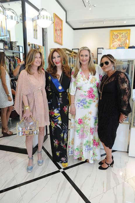 Dana Shear, Tara Solomon, Nicole Lozano, and Orianne Collins