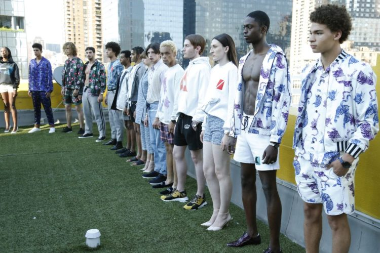 AIR Men's Fashion Week in New York City SPRING/SUMMER 2019