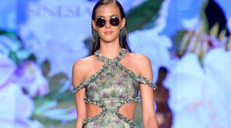 Sinesia Karol Debuts '2019' Botanical Garden Collection at Miami Swim Week
