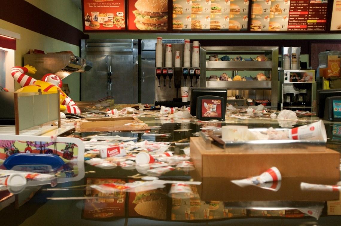 1 Flooded McDonalds still 2008 Courtesy of Superflex
