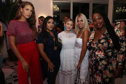 Aroon Duncanson, Stephanie Cosmopolitan, Joan Brown, Valeria Barrientos, & Chante Burkett