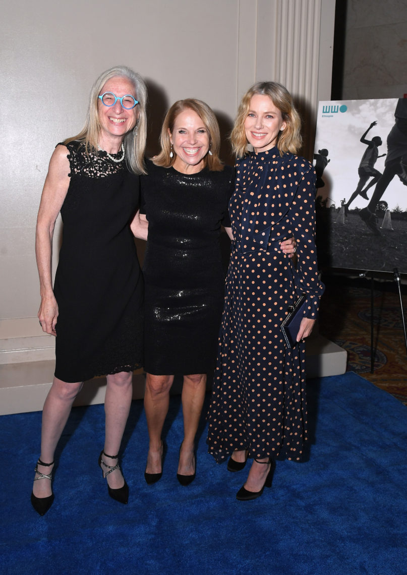 Dr Jane Aronson Katie Couric and Naomi Watts attend the Worldwide Orphans 14th Annual Gala