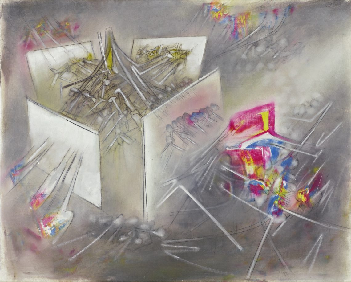 Matta, L'impencible, 1957