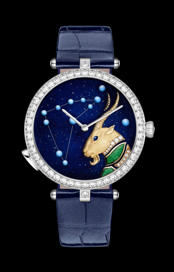 Lady Arpels Zodiac Lumineux Capricorn
