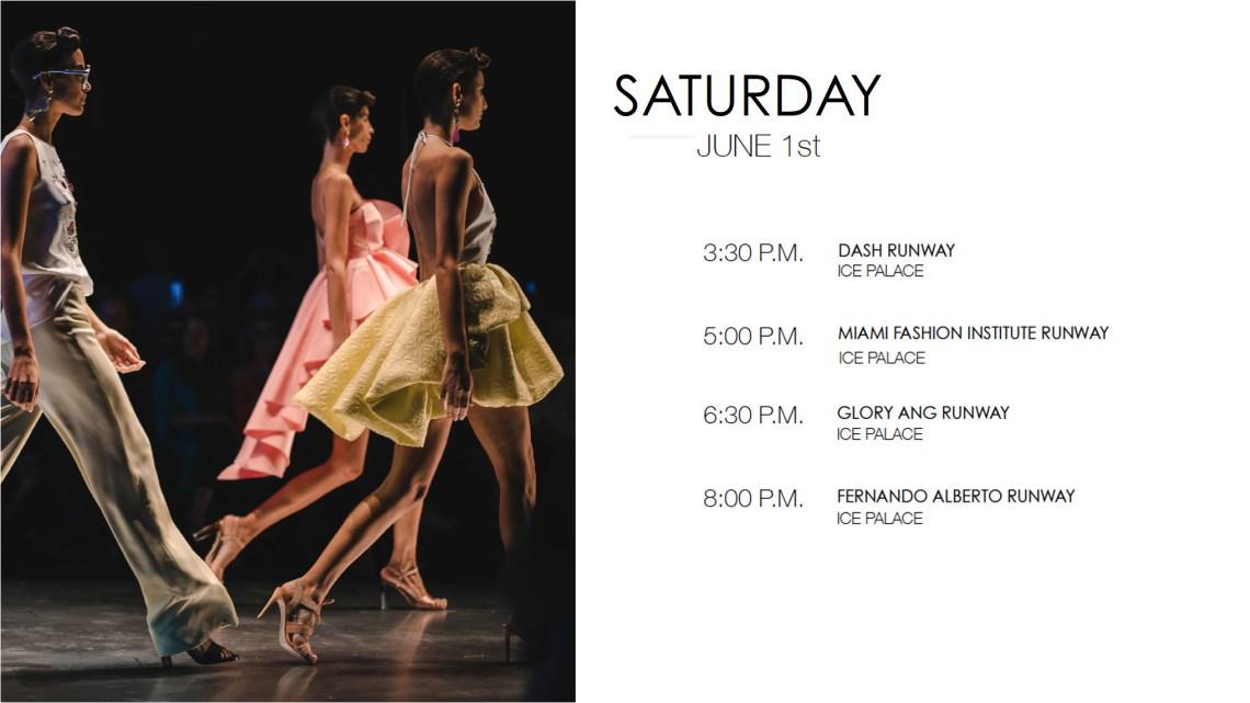 Miami Fashion Week 2020 Resort Cruise Schedule 2