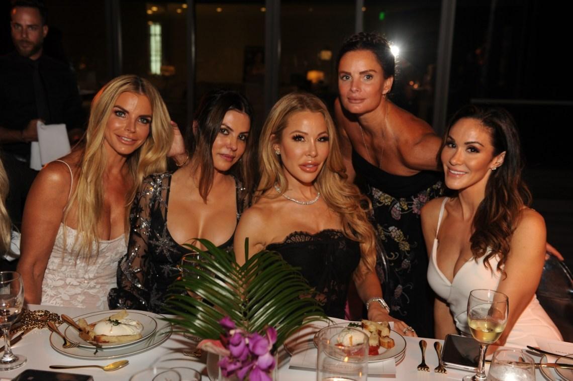Alexia Echevarria, Adriana de Moura, Lisa Hotchstein, Gabrielle Anwar, & Farah Abassi