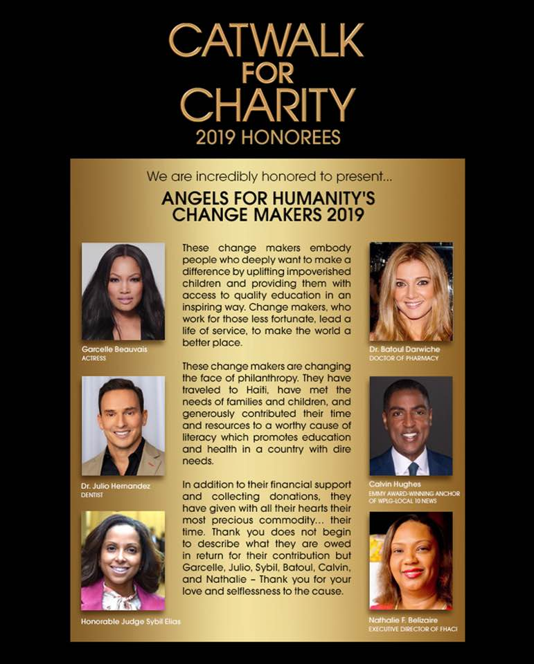 Catwalk for Charity 2019 Honorees