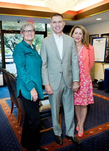Ginger Martin, Joe & Cathy Donnelly