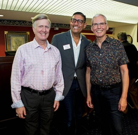 Mark Glickman, David Diaz and Steve Lutz