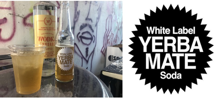 WHITE LABEL YERBA MATE SODA