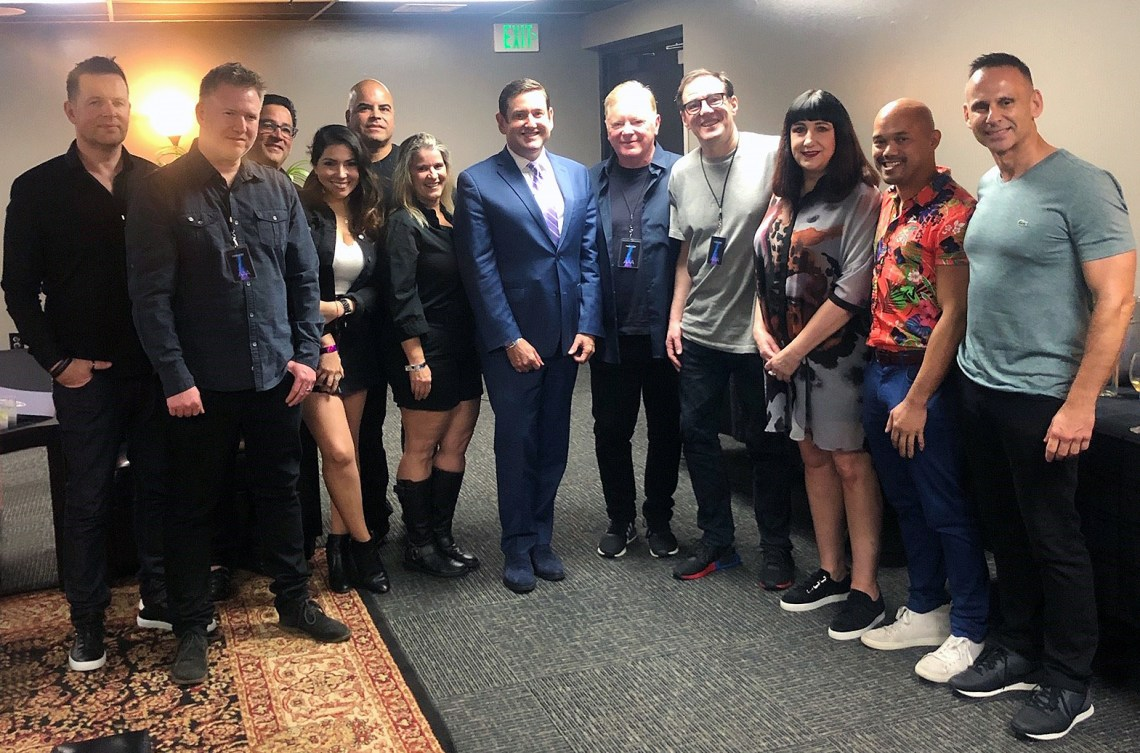 Backstage with New Order 1
