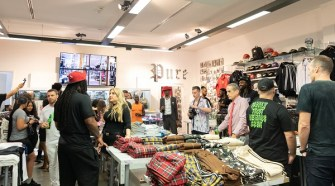 Marshawn Lynch & Marcus Peters Launch Family First Milano Collection