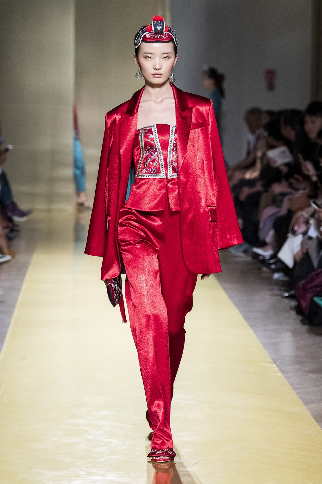 Designer Hui Zhou Zhao to support Milan during Covid19
