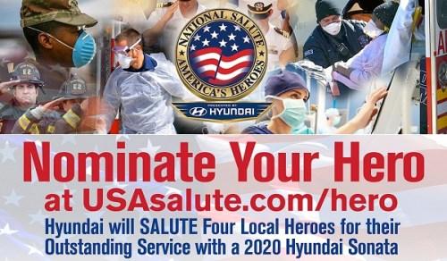 Hyundai & NSAH Launch of Salute 365 Initiative & Car Giveaway