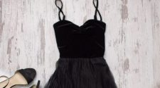 3 ways to style a little black dress