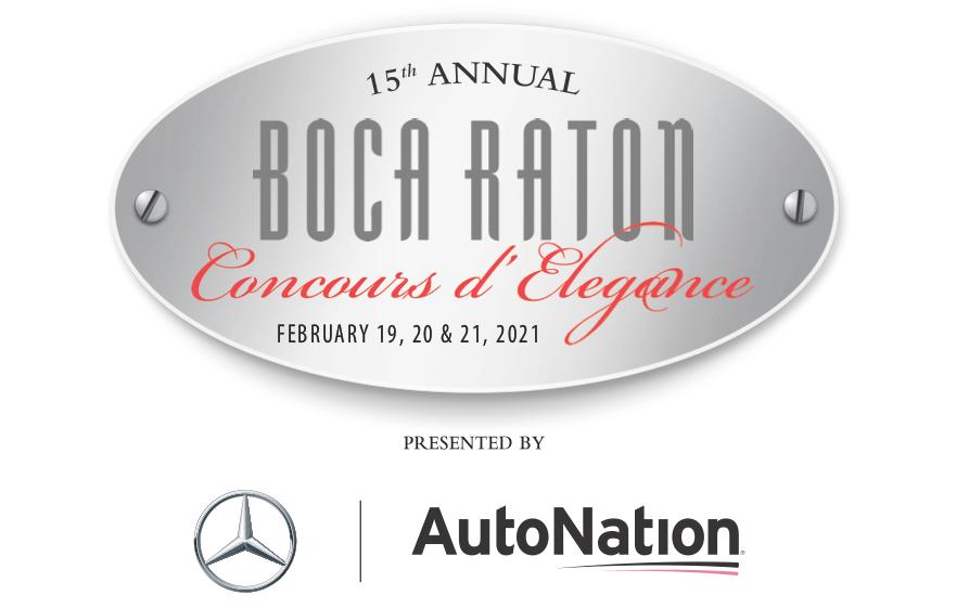 Boca Raton Concours d'Elegance 2021