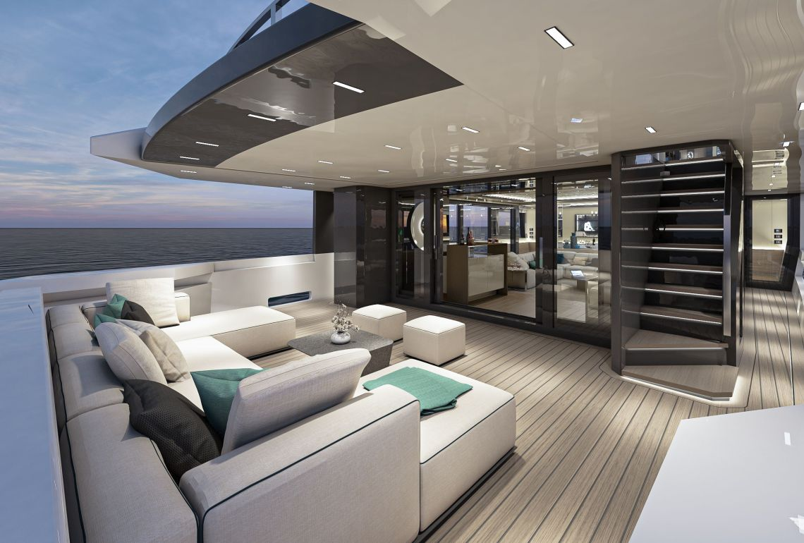 ARCADIA A115 HULL #5 A RENOVATED STYLE THAT HIGHLIGHTS