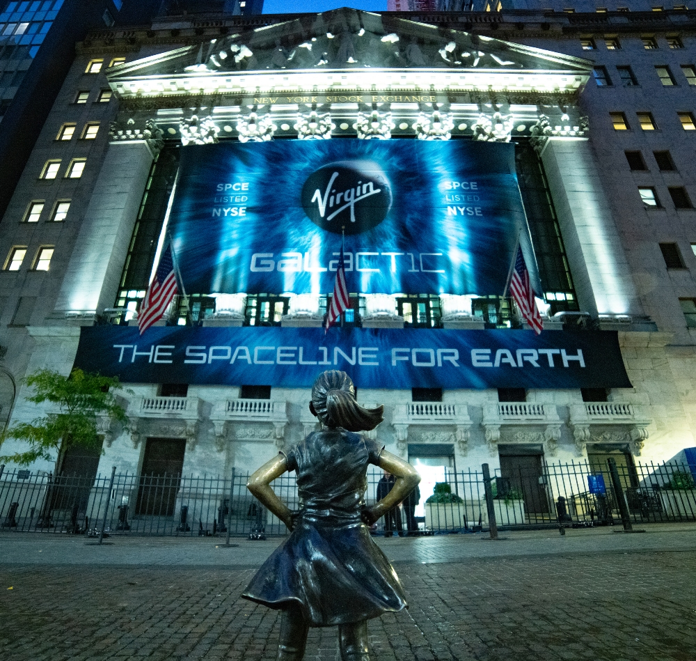 Virgin Galactic will begin trading on the New York Stock Exchange under the ticker 'SPCE.