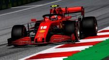 Ferrari on the Podium at Austrian Grand Prix