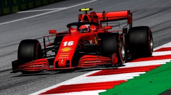 Ferrari on the Podium at Austrian Grand Prix