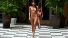 Beach Bunny Fashion Show Paraiso Miami Beach in 4K