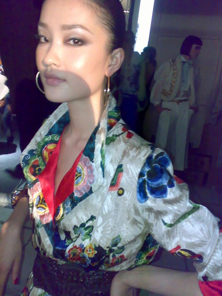 Sexy asia model