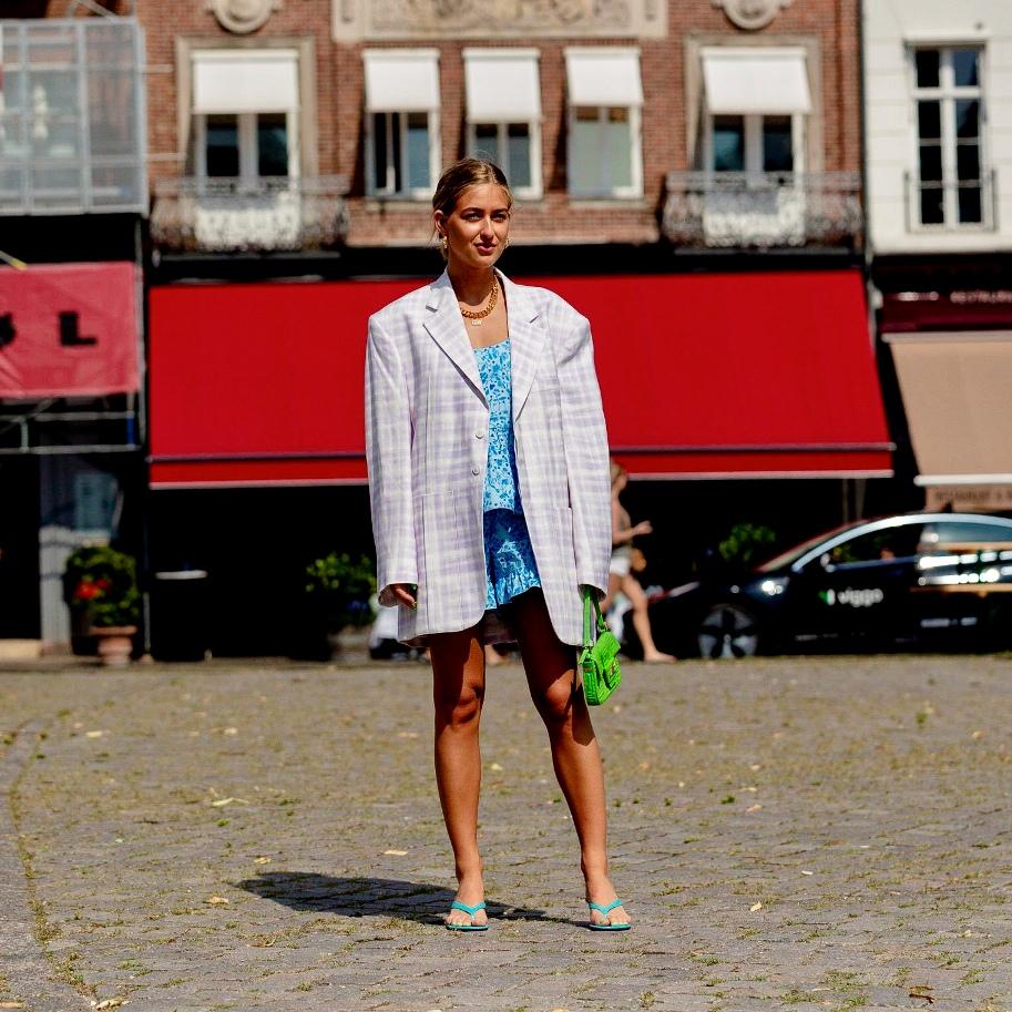 Street Style at Copenhagen Fashion Week SS21