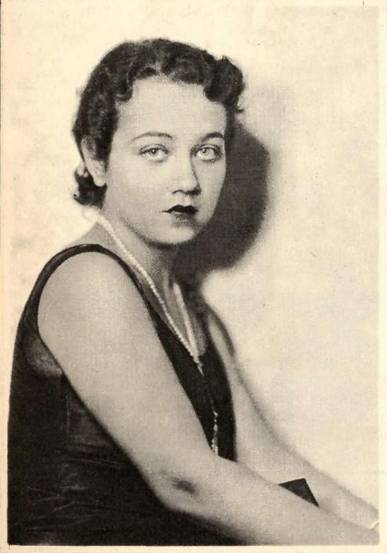 Rembrandt. [Fifiě Tarafa Goviěn] Social, La Habana, vol XIV, No 5, mayo 1929, p. 51