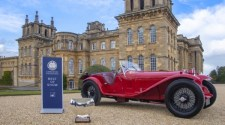 EX-SCUDERIA FERRARI ALFA ROMEO SCOOPS BEST OF SHOW AT SALON PRIVÉ
