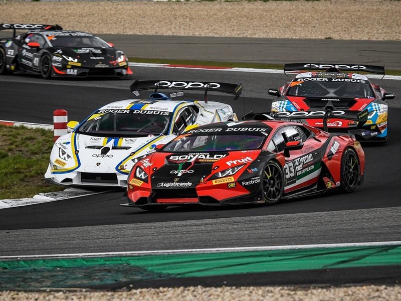 Lamborghini Super Trofeo Europe Stoneman-Galbiati