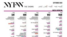 NYFW - New York Fashion Week Schedule