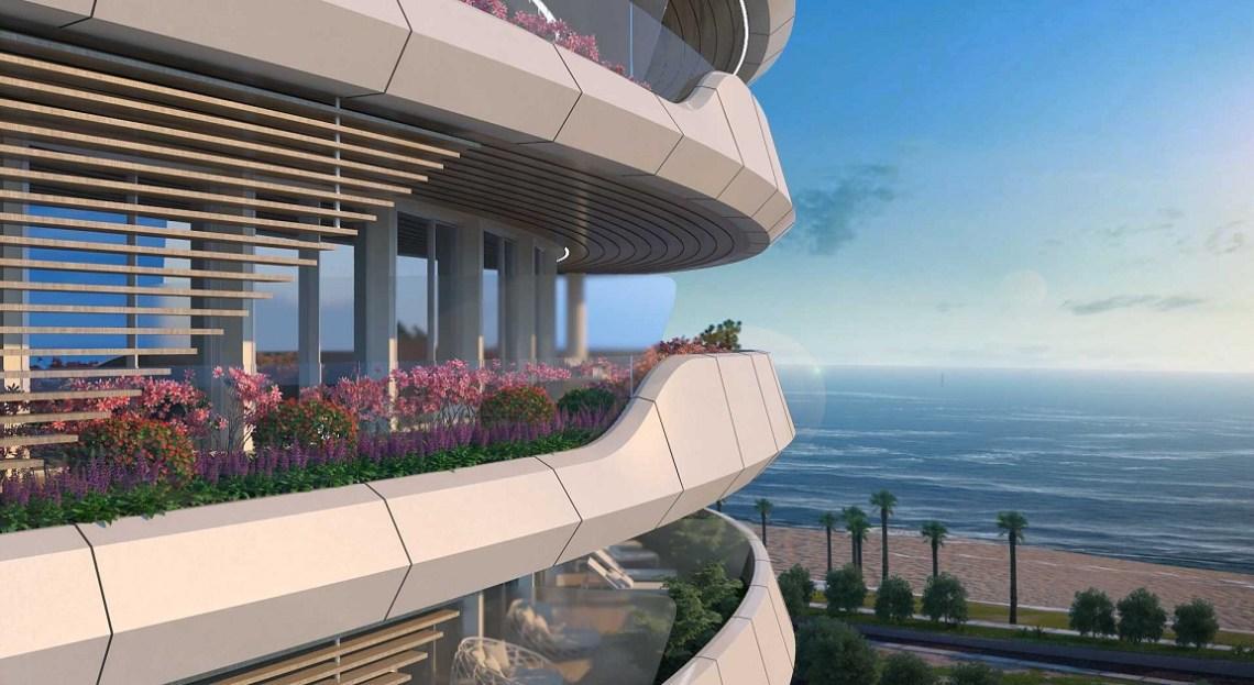Sixty & balcony