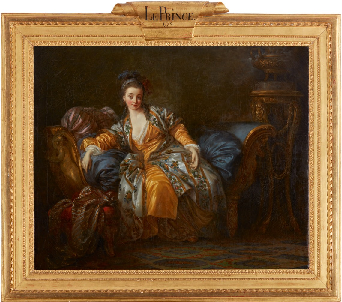 Jean-Baptiste Le Prince's Portrait of a Woman on a Divan (above, estimate $600/800,000)