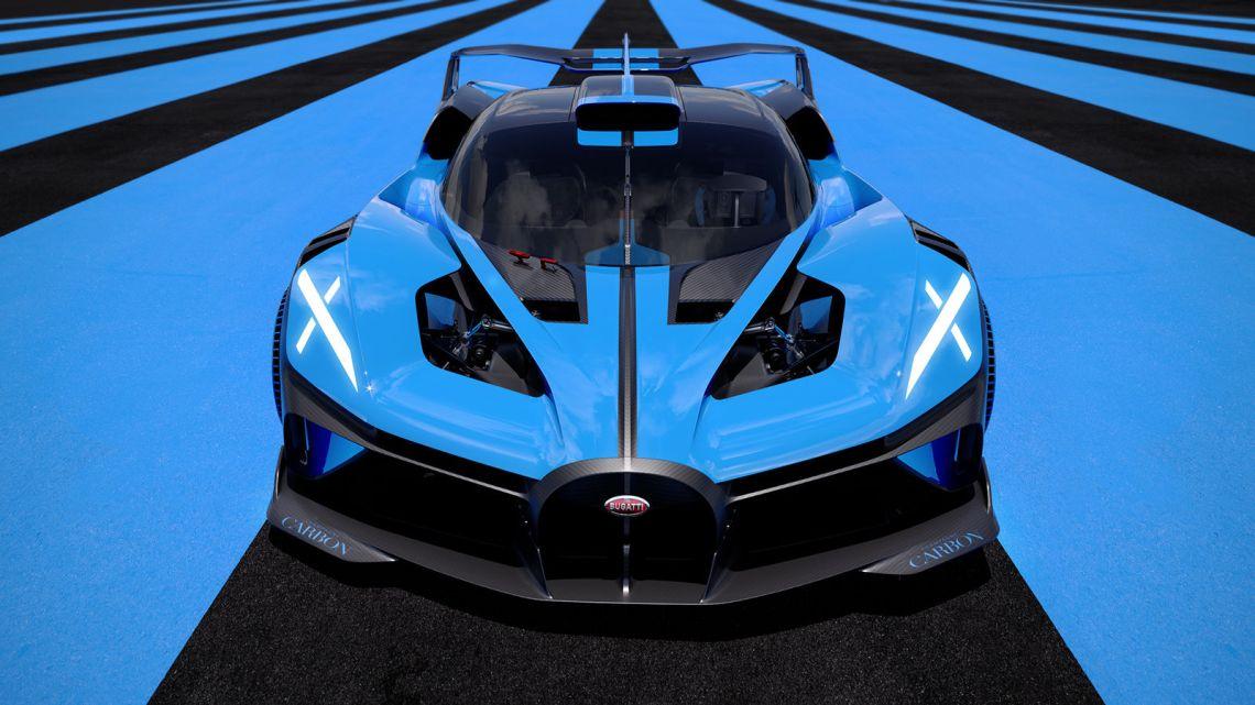 Bugatti Bolide Front