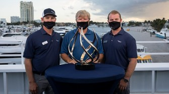 Viking Yachts' 54 Convertible Crowned FLIBS Best Of Show By NBC Sports Group
