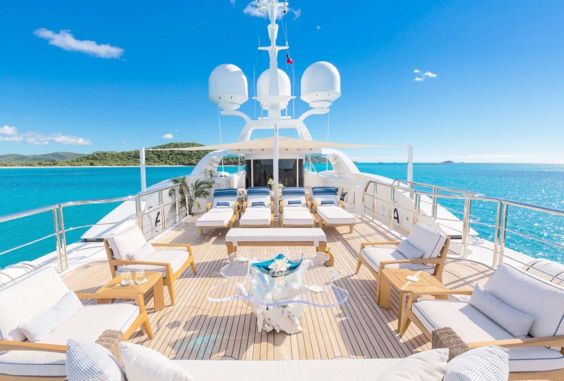 Andiamo Sun Deck Lounge Space