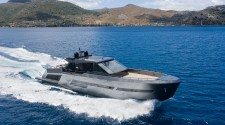 MAZU 82, A HIGH TECH-YET-STYLISH CREATION IS EQUAL PARTS SUPERYACHT AND CRUISER