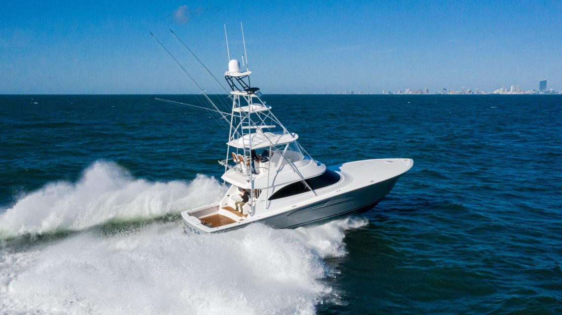 Viking Yachts' 54 Convertible