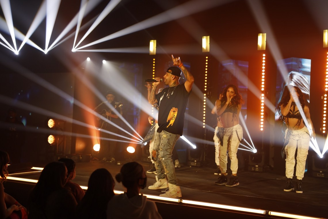 Nicky Jam performing - Bardot Live Presents Nicky Jam livestream concert with GlobalStreamNow - CREDIT Kevin Quiles