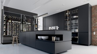 Winecab Modern Kitchen 8 10 Wine Wall