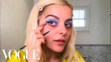 Bebe Rexha's Dark Circles Solution & Guide to Blue Eyeshadow | Beauty Secrets | Vogue