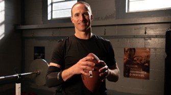 COPPER COMPRESSION SIGNS PARTNERSHIP WITH DREW BREES
