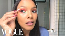 Lais Ribeiro's Glittery Carnaval Makeup Look | Beauty Secrets | Vogue